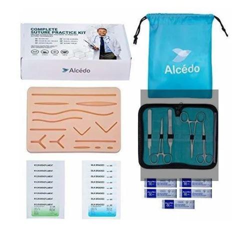 Kit de práctica de sutura Alcedo para estudiantes de Medicina