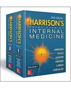 HARRISON'S PRINCIPLES OF INTERNAL MEDICINE 20 ED 2VOL