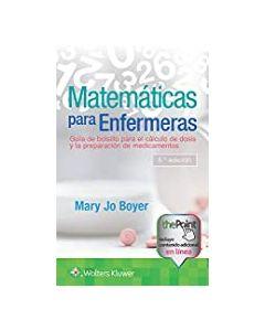 Matemáticas para enfermeras .