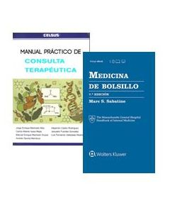 SABATINE MEDICINA DE BOLSILLO 7 ED. + MNL. PRACTICO CONSULTA TERAPEUTICA.