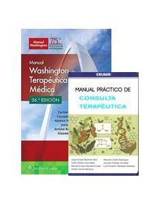 CREES WASHINGTON TERAPEUTICA MEDICA + MNL. PRACTICO CONSULTA TERAPEUTICA.
