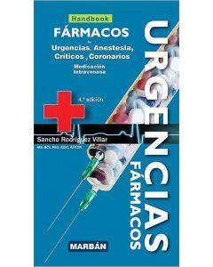 Fármacos en Urgencias, Anestesia, Críticos y Coronarios. Medicación Intravenosa (Handbook).