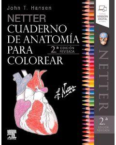 Netter cuaderno de anatomía para colorear (incluye versión digital en inglés) .