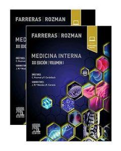 Farreras rozman medicina interna 2 vols. 1. + contenido digital