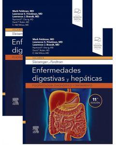 SLEISENGER y FORDTRAN Enfermedades Digestivas y Hepáticas. Fisiopatología, Diagnóstico y Tratamiento, (2 Vols.)