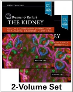 BRENNER AND RECTOR'S THE KIDNEY, 2-VOL 11 ED.