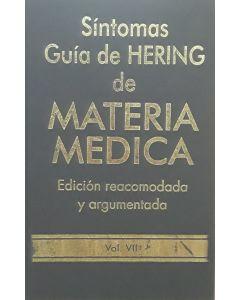 SÍNTOMAS GUÍA DE HERING DE MATERIA MEDICA VOL 7