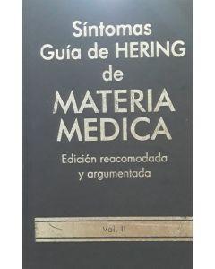 SINTOMAS GUIA DE HERING DE MATERIA MEDICA VOL 2