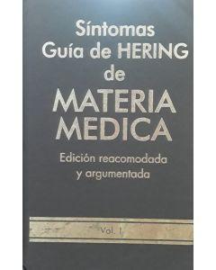 SÍNTOMAS GUÍA DE HERING DE MATERIA MEDICA VOL 1